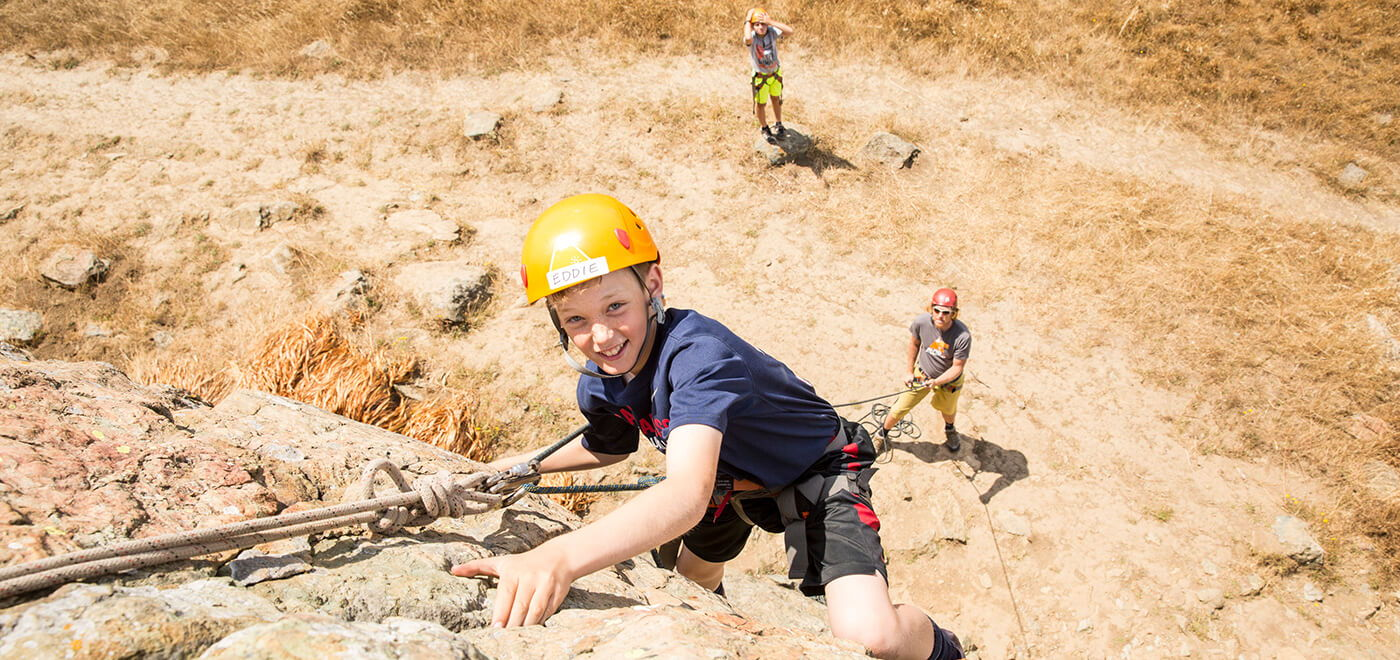 rock climbing summer camp